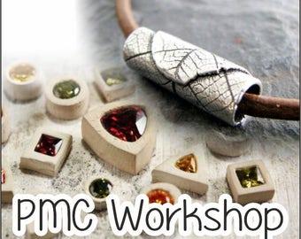 CREATIVE FREEDOM : Metal Clay Workshop - 25 JUNE  2017