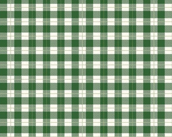 Comfort and Joy Plaid Green - C6267 Green by Designs by Dani for Riley Blake Designs