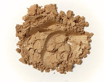 CINNAMON SUGAR Mineral Eye Shadow - Natural Makeup - Gluten Free Vegan Face Color