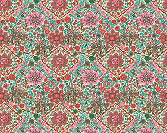 Pre-order: Kaliedescope in Bone by Amy Butler from the Soul Mate collection for Free Spirit #CPAB003.8Bone by 1/2 yard