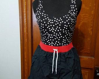 Gitano Vintage Polka Dot High Waisted Swimsuit