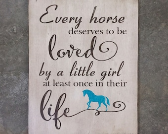 Every Horse Deserves to be Loved