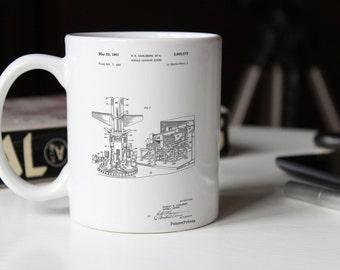 Missile Launching System patent 1961 Mug, PP0959