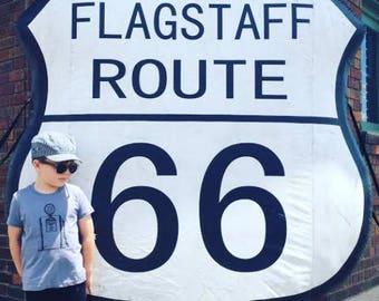 KIDS Route 66 T-shirt, Size XS-XL