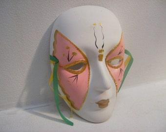 Beautiful Hand Painted Decorative Mask Wall Masks Wall Hangings #16