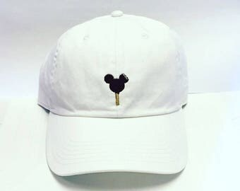 Youth Mickey Ice Cream Bar Baseball hat Disney World/Disneyland dad hat-Monogramming available!