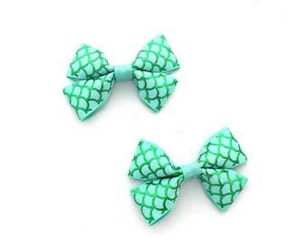 Mermaid Bows, Mermaid Baby, Mermaid Accessories, Mermaid Hair Clips, Mermaid Hair Bows, Mermaid Tail, Under The Sea, Under The Sea Baby
