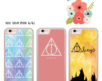Harry Potter Inspired iPhone Samsung Galaxy iPod Touch hard case
