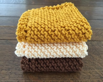 dish cloth, spa wash cloth, knitted cotton washcloth, spa set, gift for her, stocking stuffer, colorful dishcloth, cooking club, chef gift