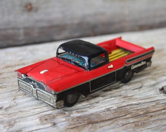 Mercury Commuter Pickup Truck Tin Friction Toy - Made in Japan