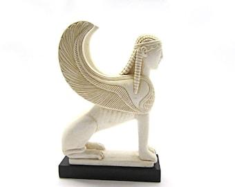 Big Greek Keramid sphinx ,  Gift for him her , Museum copy of Sphinx