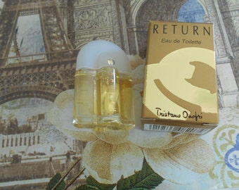 Return eau de toilette by Tristano Onofri miniature 5 ml / 0.17 fl oz bottle, new in box