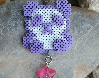 Kawaii purple PANDA
