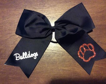 Personalized Children's Ponytail Bows