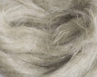 Flax / Linen Roving - DHG's Natural White - 4 oz