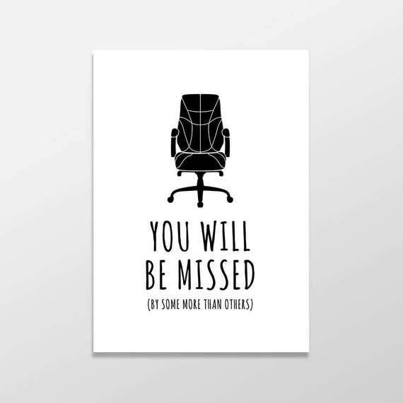 Sad I Miss You Quotes For Friends: Funny Goodbye Card Rude Farewell Card Funny Greeting Card
