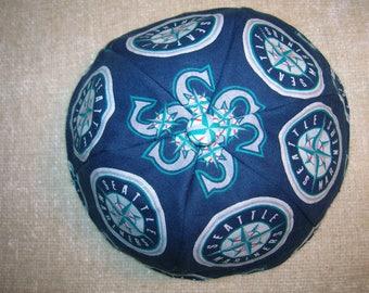 Seattle Sports Teams Kippah/yarmulke/skullcap- Seahawks, Mariners, and Sounders