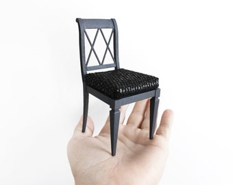 French dining chair 1/6th scale