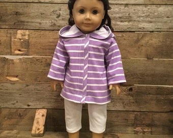 Hoodie and Capri Pant for 18 inch Doll