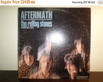 Save 30% Today Vintage 1966 Vinyl LP Record Aftermath The Rolling Stones Mono Version Very Good Condition 9015