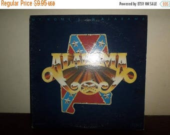 Save 30% Today Vintage 1980 LP Record Alabama My Home's In Alabama Excellent Condition 10068