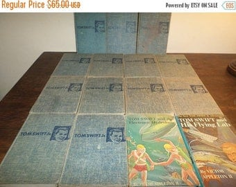 Save 25% Now Collection of 14 Vintage Tom Swift Jr Adventure Series Books Victor Appleton II 14 of the First 18 Books