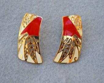 Berebi Pierced Earrings Vintage