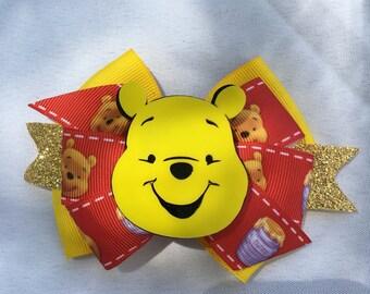 Winnie the Pooh Bow