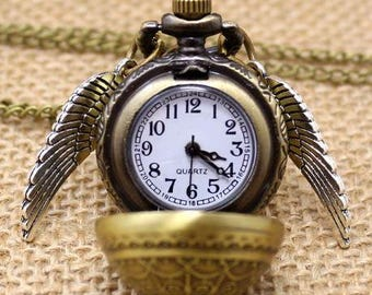 Vintage Pocket Watch with chain .