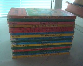 Set of 17 Series 401/497 Ladybird Books