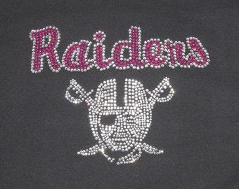 Raiders Rhinestone tshirt