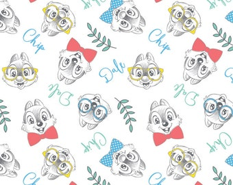 Disney Fabric Chip and Dale Fabric From Springs Creative