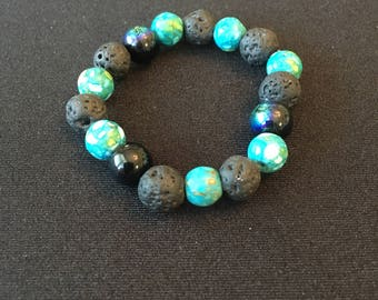 Essential Oils Space Bracelet
