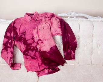 Wilted Rose Button Down
