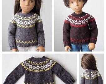 Humber River Icelandic Sweater for Sasha Dolls