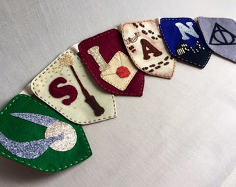 Personalised Harry Potter Bunting
