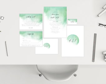 Wedding Package // Watercolour 02