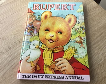1981 Rupert Bear Annual by the Daily Express