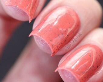 Oriental Poppy - 10 ml handmade nail polish