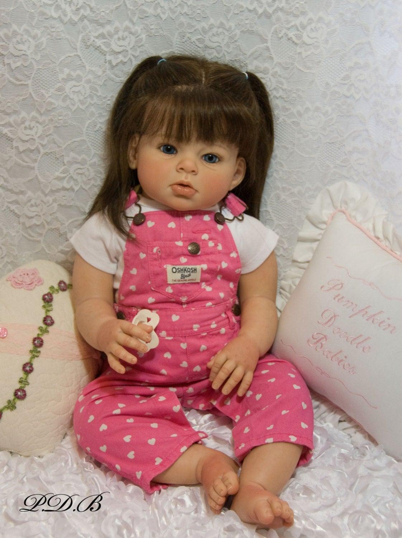 Custom Order Reborn Toddler Doll Baby Girl By