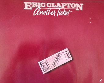 Eric Clapton - Another Ticket - vinyl record