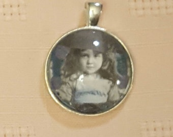 Digital Image Art Necklace Pendant
