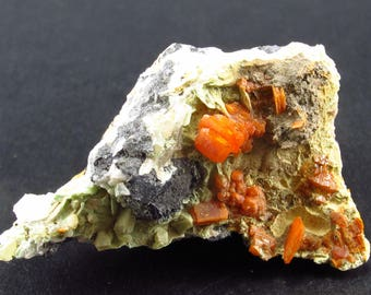 Wulfenite Cluster From Arizona - 1.9""