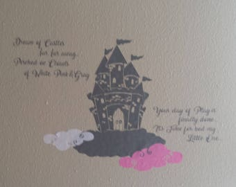 Wall Decal for a childs room