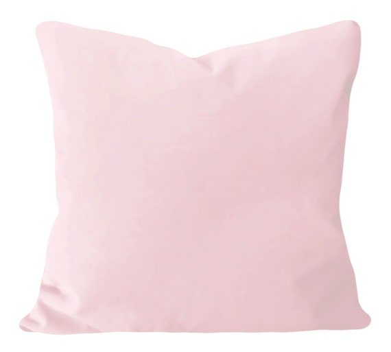 Blush Pink Decorative Pillow : Pink Blush Velvet Pillow Cover Decorative by PillowTimeGirls
