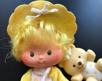 Butter Cookie and Jelly Bear Vintage Strawberry Shortcake