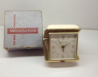 Westclox travel alarm clock