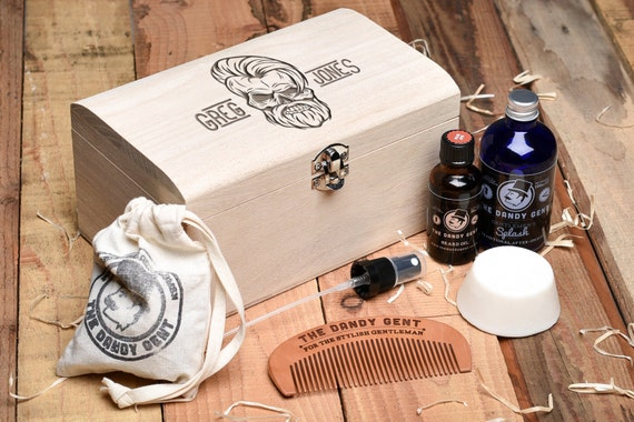 personalised beard grooming gift set fathers day gift gift. Black Bedroom Furniture Sets. Home Design Ideas