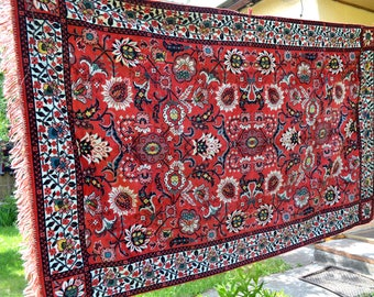 Velvet carpet, Сrushed velvet, Vintage Bed Cover, Oriental Kilim Rug, Wall Tapestry Hanging, plush carpet, rayon Velvet Tapestry