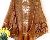 Crochet Shawl Pattern - mothers day shawl - pineapple shawl pattern - crochet wrap - wedding shawl  - triangle shawl - prayer shawl pattern